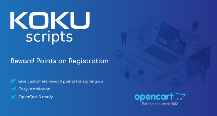 Reward Points on Registration