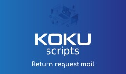 Return request mail