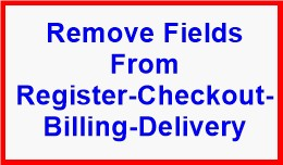 Remove Fields From Register-Checkout-Billing-Del..