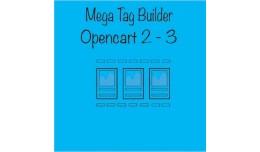 Mega Tag Builder Opencart 2 - 3