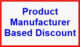 Product Manufacturer Based Discount
