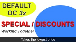 Special and discount takes lowest price fix 3x o..