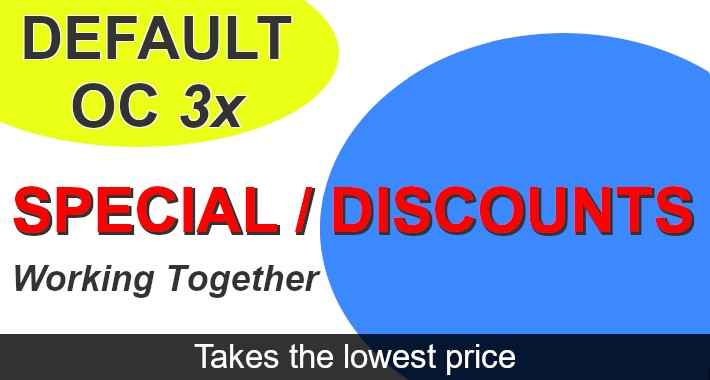 Special and discount takes lowest price fix 3x ocmod FREE