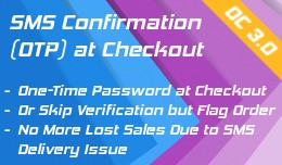 SMS Confirmation at Checkout