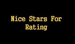 Nice Stars For Rating