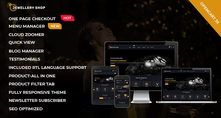 Jewellery shop multipurpose theme
