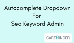 Autocomplete dropdown in admin for seo keyword p..