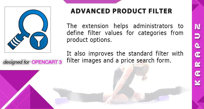 Advanced Product Filter (for Opencart 3)