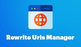 Rewrite URL Manager