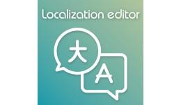 Localization editor + Google and Yandex auto-tra..