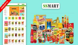 SS Mart Grocery Responsive Online Shopping Templ..