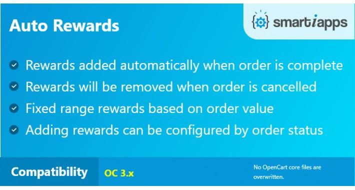 Auto Add Reward Points