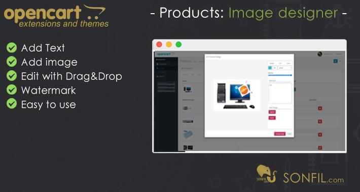 Products image designer