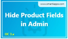 Hide Product Fields in Admin by SmartiApps
