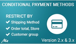 Conditional Payment Methods