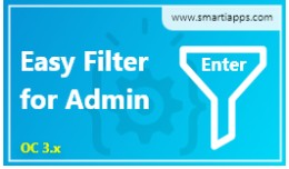 Admin Easy Filter [Filter using Enter Key]
