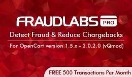 FraudLabs Pro Fraud Prevention - vQmod