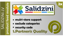 Salidzini.lv Product Feed for OpenCart 2.x and 1..