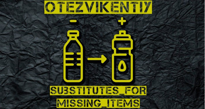 Substitutes For Missing Items