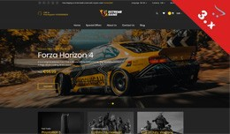 Extremegame - Game, Sports, Jewelry - Responsive..