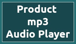 Product mp3 Audio Player