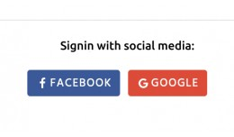 Social Media Login Register (Facebook | Google |..