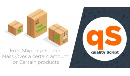 Free Shipping Sticker Mass and Certain products