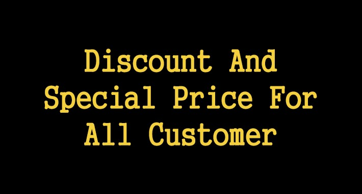 Discount And Special Price For All Customer Group