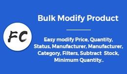 Bulk Modify Product