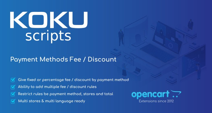 Payment Methods Fee / Discount