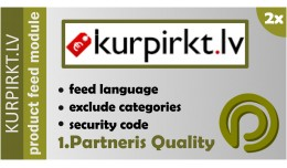 Kurpirkt.lv XML Data Feed for OpenCart 2.x