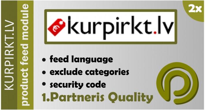 Kurpirkt.lv XML Data Feed for OpenCart 2.x