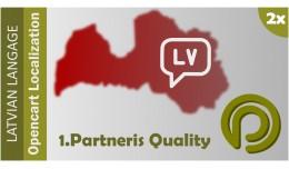 Latvian Language Pack for OpenCart2.x | Latvieš..