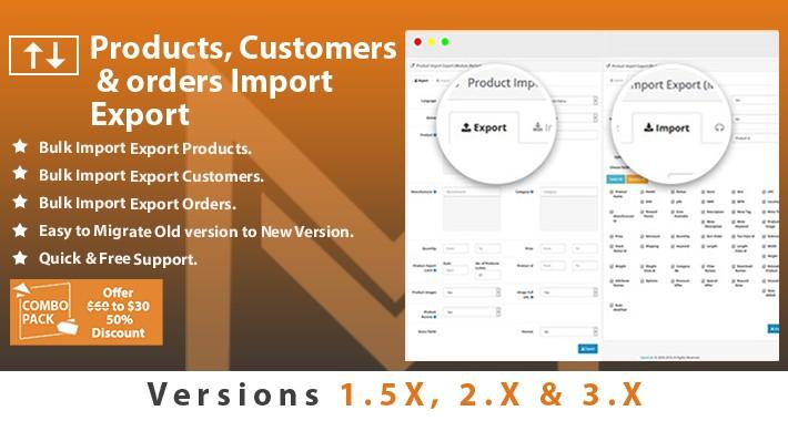Import Export Combo