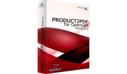 Product2PDF for Opencart for v. 3.x