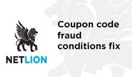 Coupon code fraud fix