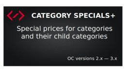 Category Specials+ (Category Based Special Offers)