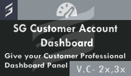 SG Customer Account Dashboard