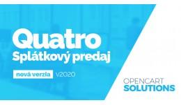 Quatro Splátky OC2.x a 3.x (verzia 2020)