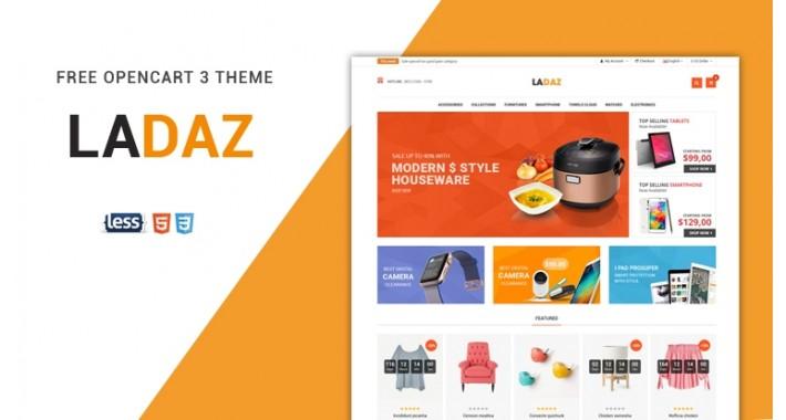 So Ladaz – Free Responsive OpenCart 3.x & 2.3.x Theme