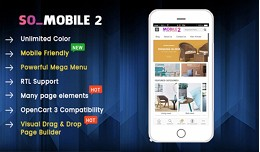 SO Mobile 2 - Multipurpose Mobile OpenCart 3 Theme