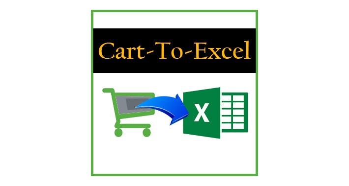 Cart-To-Excel (OCMOD)