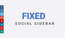 Social Media Sidebar pro