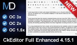 CkEditor Full Enhanced 4.15.1