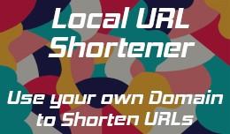 Local URL Shortener