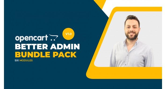 Better Admin Bundle Pack