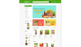Green Grocery and organic Theme