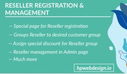 Reseller Registration & Management (Advanced)