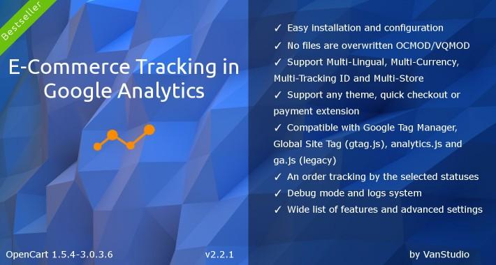 E-Commerce Tracking in Google Analytics