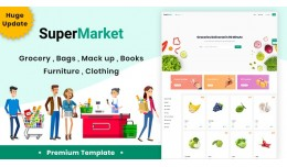 Superstore V2 6 Demo Responsive Opencart 3.x Theme
